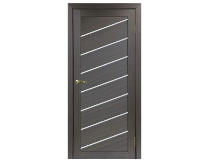 Межкомнатная дверь «OPTIMA PORTE» Турин 508U Венге FL