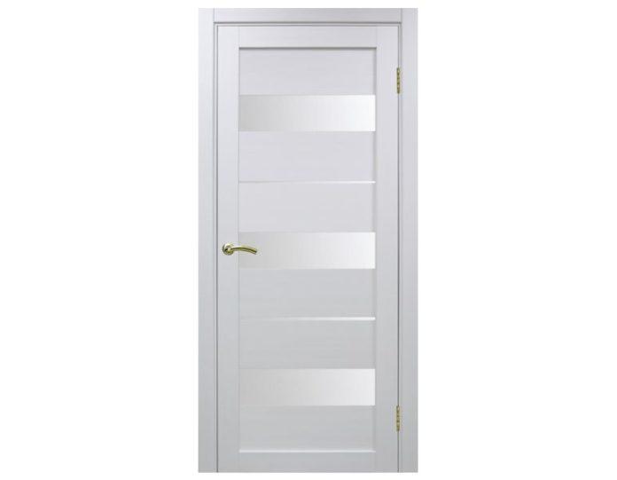 Межкомнатная дверь «OPTIMA PORTE» Турин 526 Белый монохром