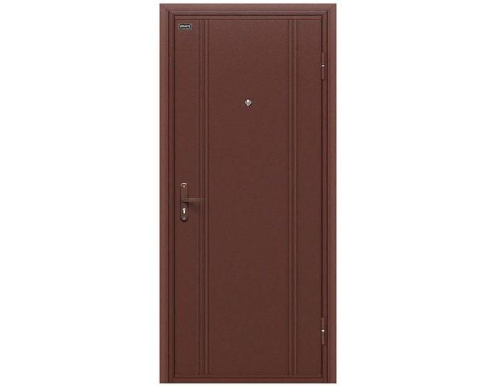 Входная дверь «Браво» Модель Door Out 101 Антик Медь/Антик Медь
