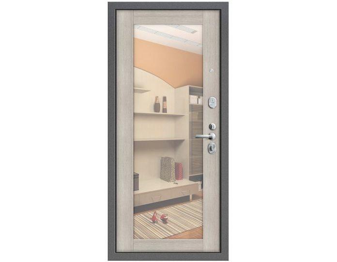 Входная дверь Модель Т2-220 Антик Серебро/Cappuccino Veralinga