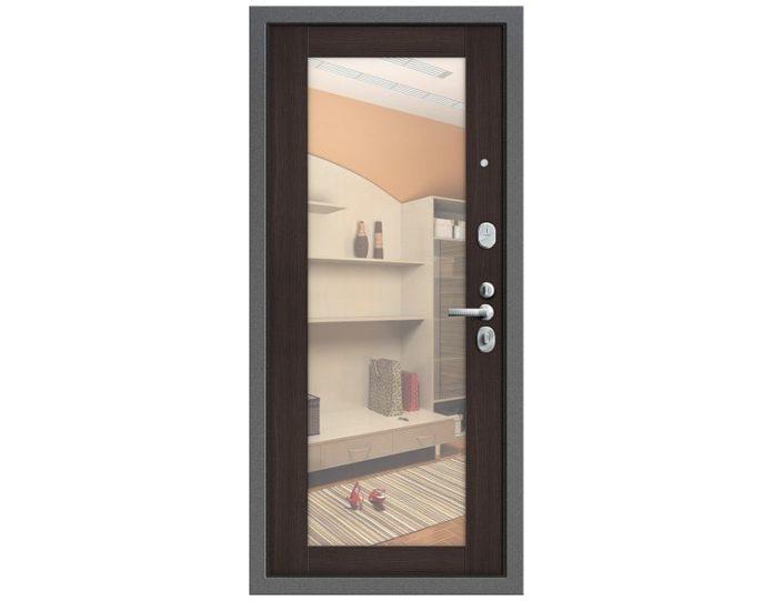 Входная дверь Модель Т2-220 Серебро/Wenge Veralinga