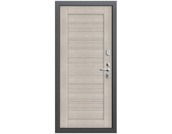 Входная дверь Модель Т2-221 Антик Серебро/Cappuccino Veralinga