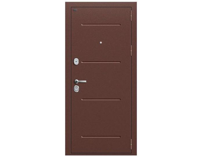 Входная дверь Модель Т2-221 Антик Медь/Wenge Veralinga