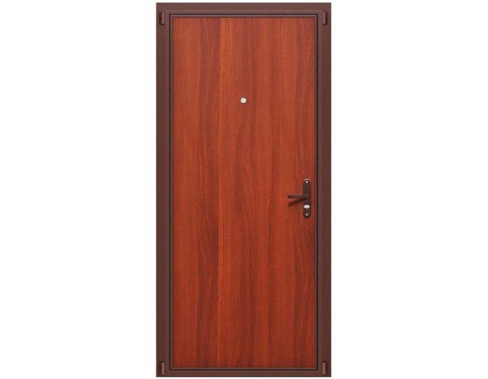 Входная дверь «БРАВО» МОДЕЛЬ Билд Антик Медь/М-11 (ИталОрех)
