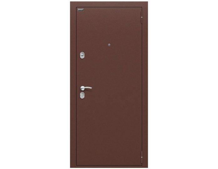 Входная дверь «БРАВО» МОДЕЛЬ Старт Антик Медь/П-33 (Венге)
