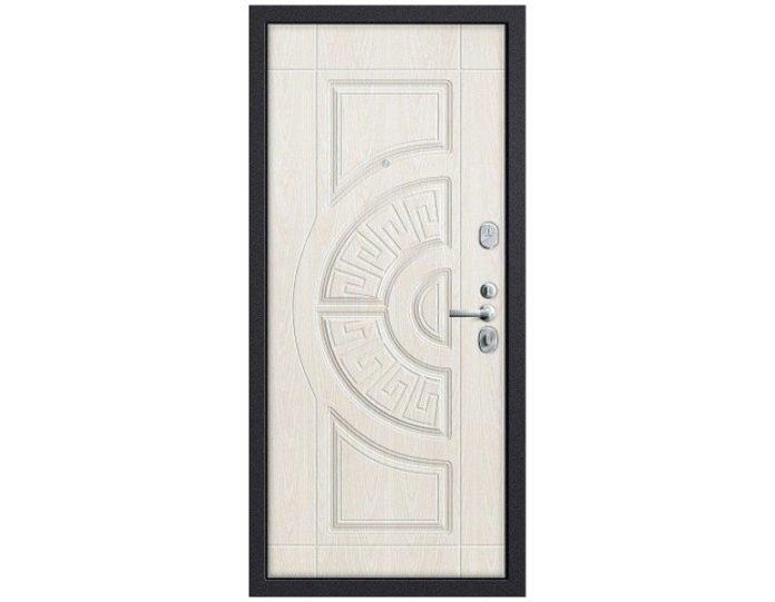 Входная дверь GROFF Р3-312, П-28 (Темная Вишня)/П-25 (Беленый Дуб)