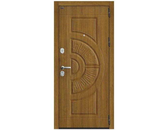 Входная дверь Модель Р3-312 П-4 (Золотой Дуб)/П-4 (Золотой Дуб)