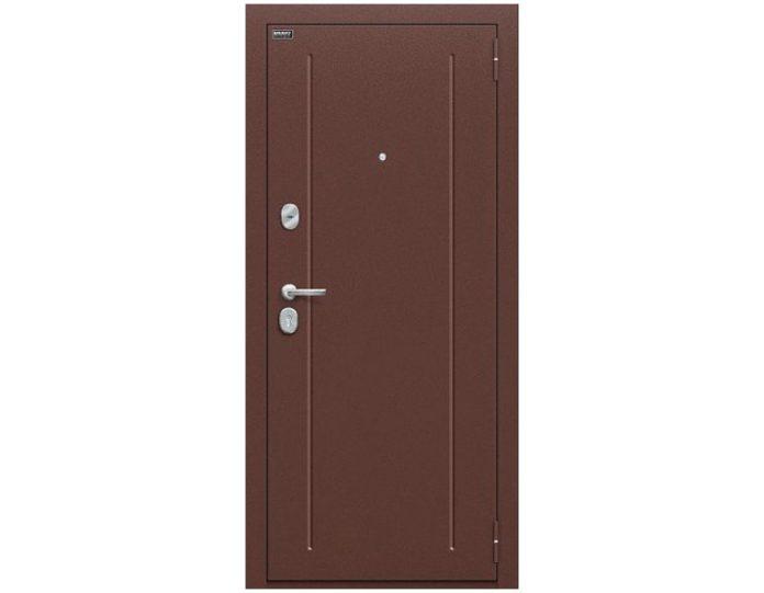 Входная дверь «Браво» Модель Норма Антик Медь/Wenge Veralinga