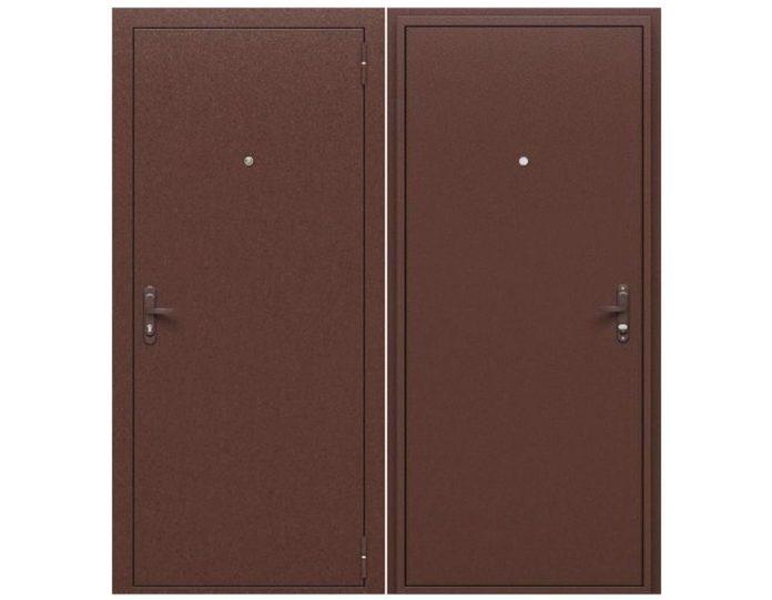 Входная дверь «БРАВО» МОДЕЛЬ Стройгост РФ Антик Медь