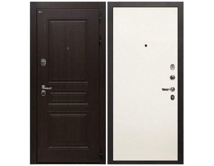 Входная дверь Интекрон Брайтон (Тиковое дерево / Силк жасмин)