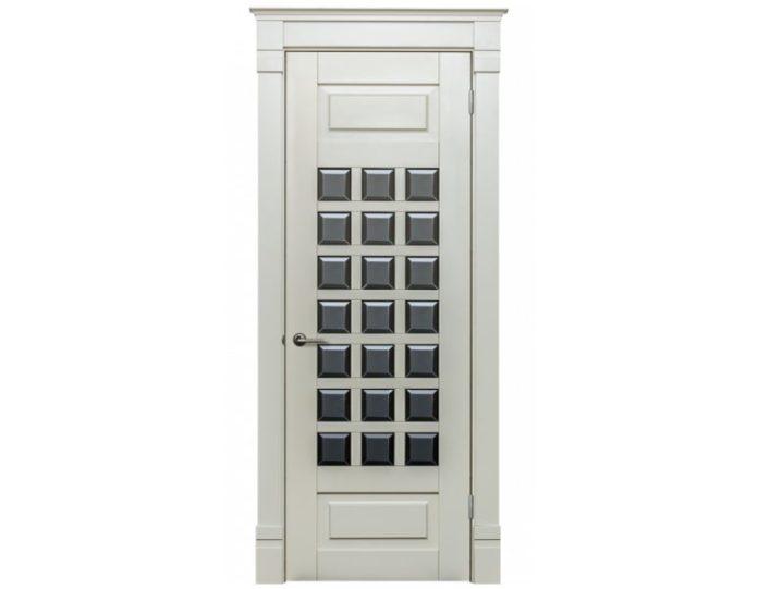 Межкомнатная дверь Ламель МОДЕЛЬ «Анг. решетка модерн»