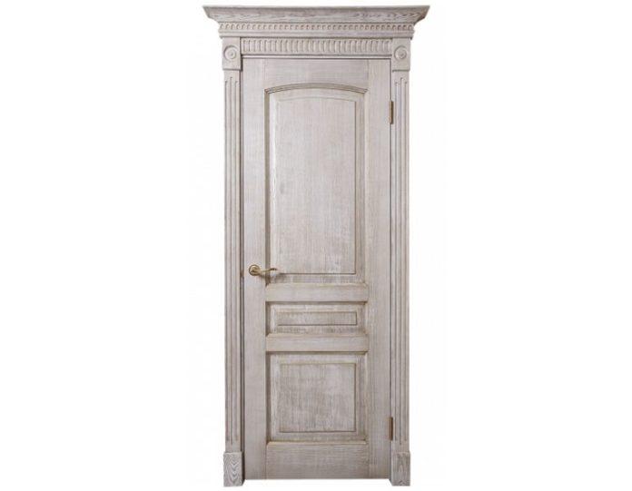 Межкомнатная дверь Ламель МОДЕЛЬ «Леда сосна»