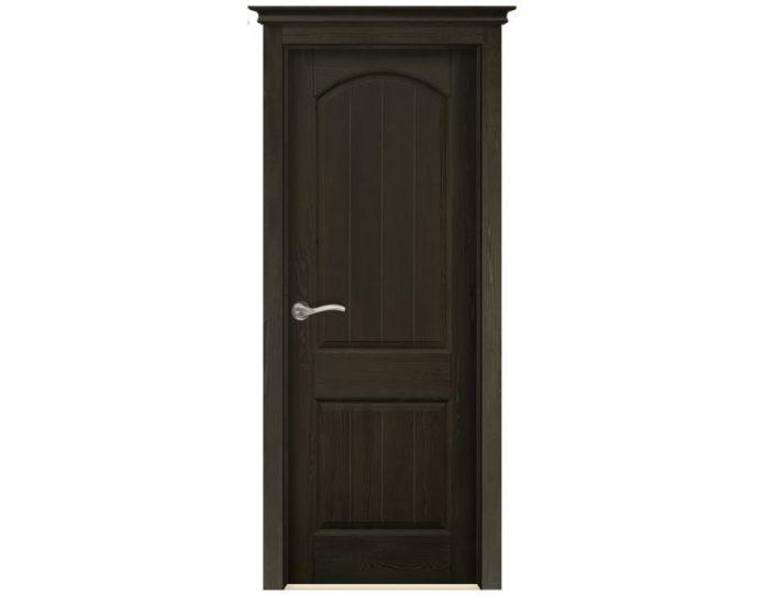 Межкомнатная дверь «Ока» Модель Осло Эйвори Блек